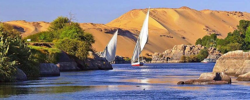 Nile View in Aswan with Misr Travel