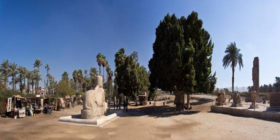 Statua della Sfinge in Alabastro - Memfi