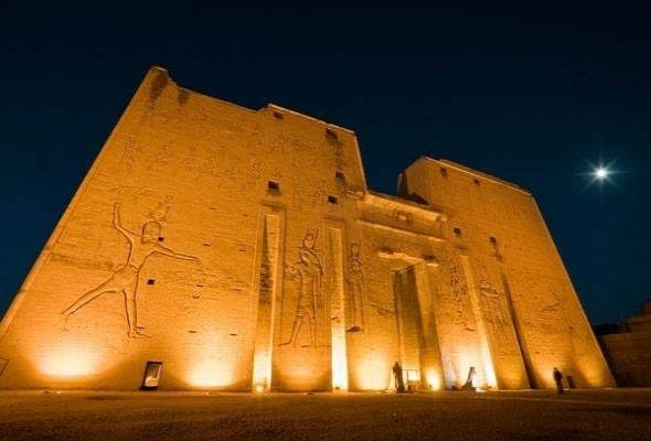 Temple of Isis on Philae Island - Aswan