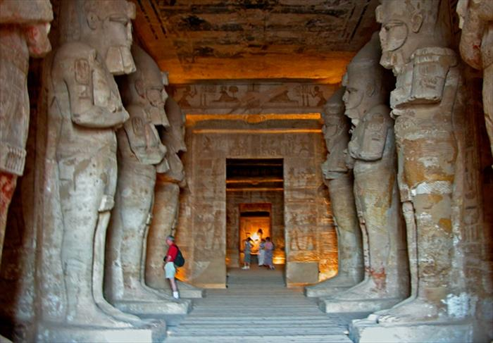 Abu Simbel Temple - Internal View