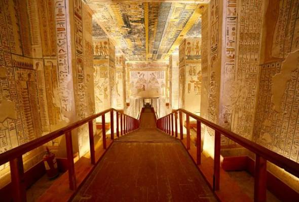 Tomb of Ramsess II - Luxor West