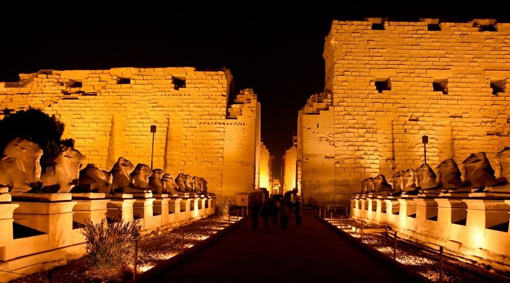 Misr Travel  - Luxor - Spettaccolo dei Suoni e Luci nel Karnak