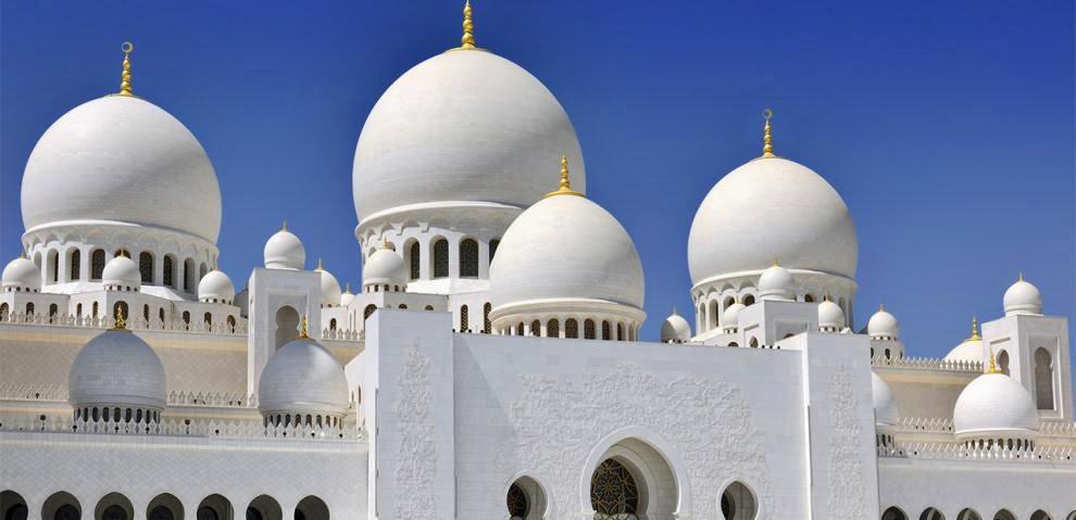 Una Moschea ad Abu Dhabi