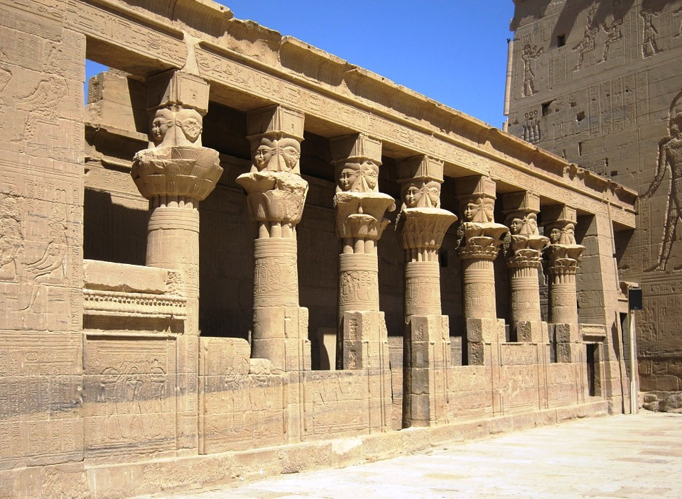 Temple of Isis - Aswan - Misr Travel