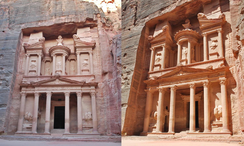 Petra - Giordania,Viaggio in piu' di un paese