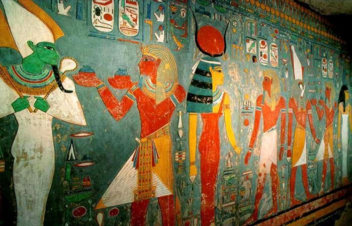 La tomba di Herkhepshef - la Valle delle regine - Luxor ovest